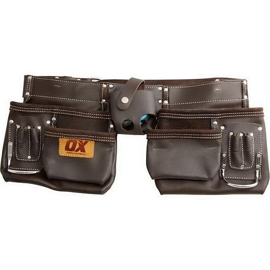 OX Pro 36in Leather Tool Pouch with Belt