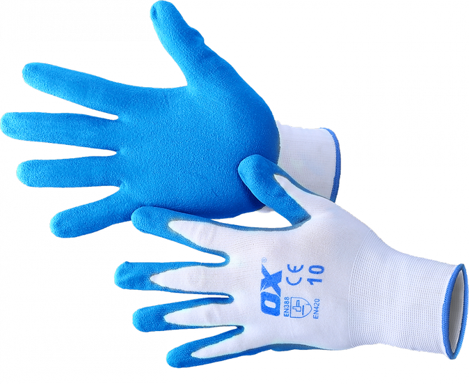 OX Safety Gloves Lrg 10