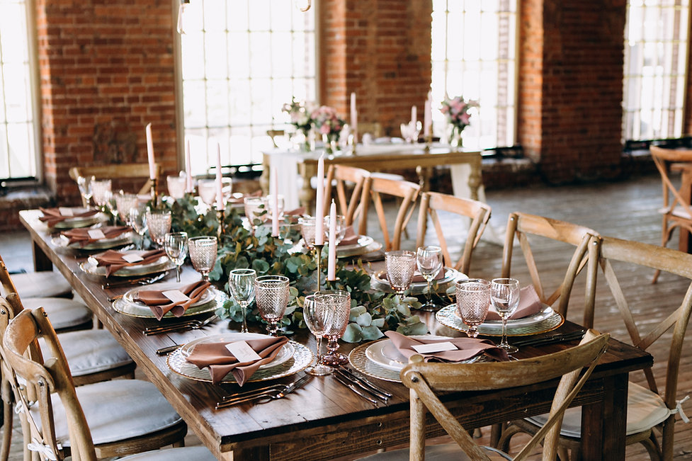 Table decoration styling