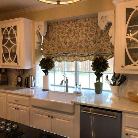 Kitchen Fabric Shade