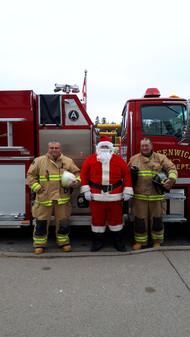 Santa visit at The Hub