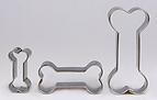 Keksform Hundeknochen