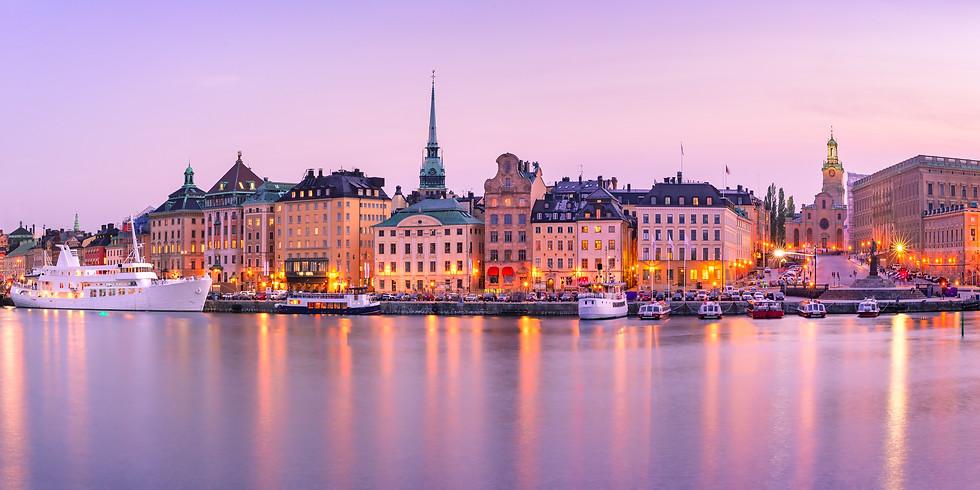 Stockholm - Medial kurs med Benny Rosenqvist och Helena-Magdalena Ivekrans-Nätt