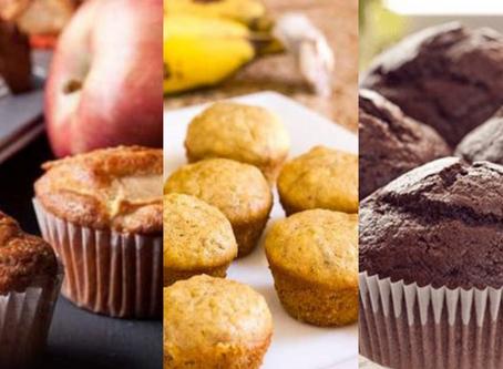 3 Deliciosas Recetas de Muffins Veganos Caseros