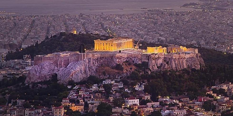Fullbokad! Aten - Into the Mystics Akropolis, Eleusis, Delfi 2021