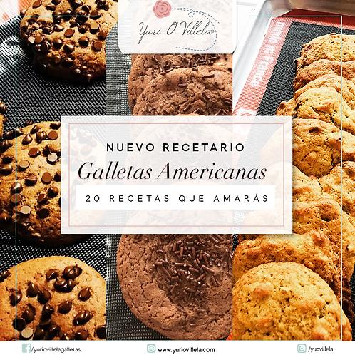 Recetario Galletas Americanas