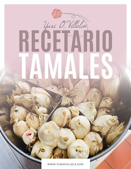 Recetario Tamales