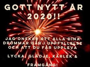 Nu skapar vi ett underbart, magiskt och fantastiskt 2020!!