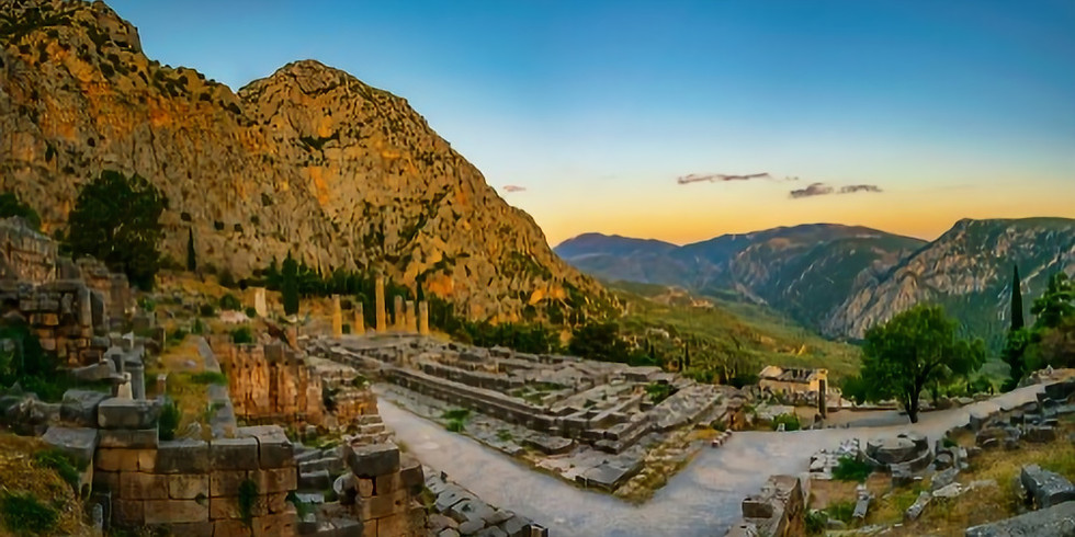 Rundresa - Into the mystics - Delfi, Meteora, Aten september2021