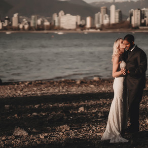 Vancouver Wedding Photography At Kitsilano Beach