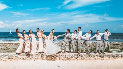 Jenn & Ian - Bahia Principe Akumal Wedding