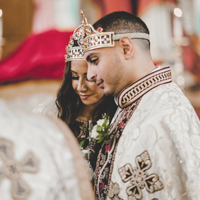 Canadian Coptic Centre Wedding in Mississauga - Palaise Royale