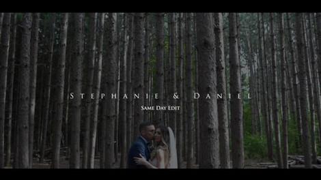 Stephanie & Daniel's Same Day Wedding Video