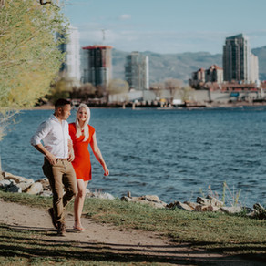 A Spontaneous 20 minute Engagement Photo Session in Kelowna, British Columbia
