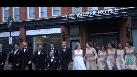 Spencer & Maddie's New Year Wedding