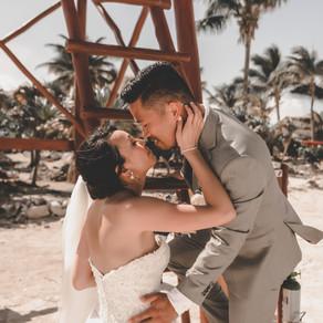 Bahia Principe Akumal Destination Wedding - Jenn & Ian