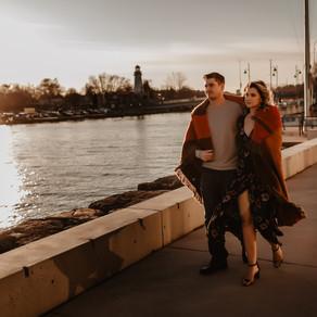 Port Credit Engagement Photo Session - Adela & Simon