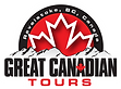 Great Canadian Tours Logo with white bor