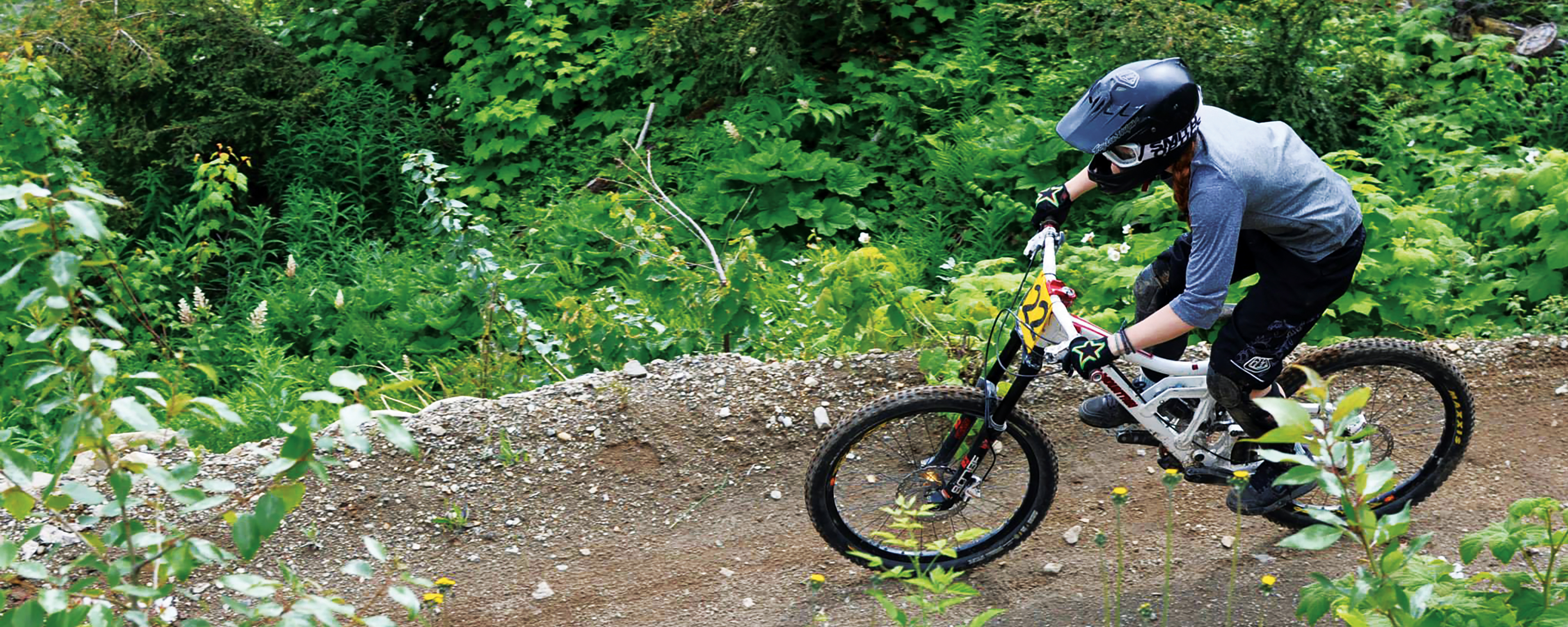 Emily Roberts Mountain Biking