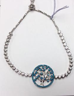 Tree of life ADJ. bracelet $75.00