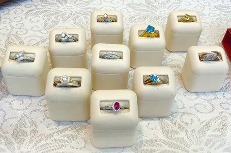 Various 14k rings
