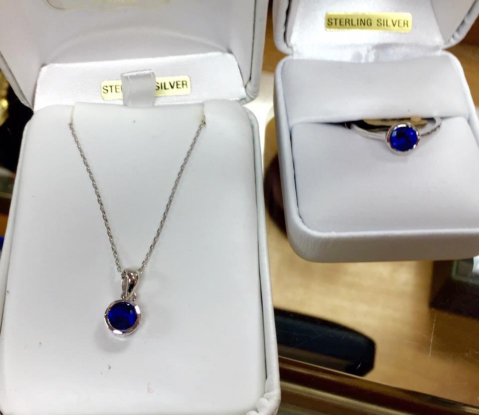 Blue Sterling Set $85.00/set
