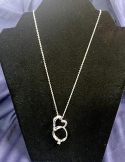 Silver Ring/Eye Glass holder $20