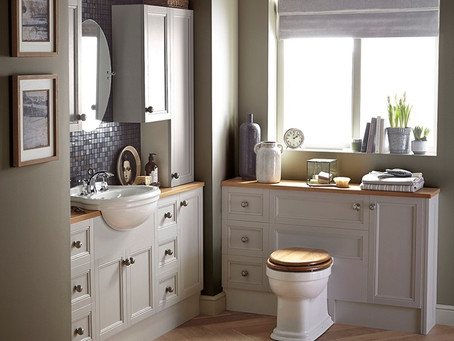 How do consumers choose bathroom products?