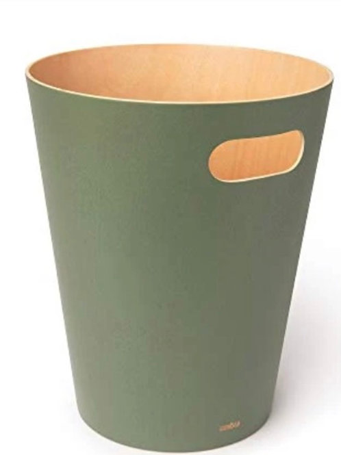 Umbra Wood Row Paper Bin