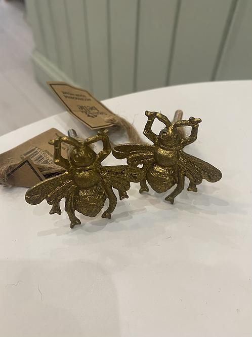 Antique Bee Drawer Knob
