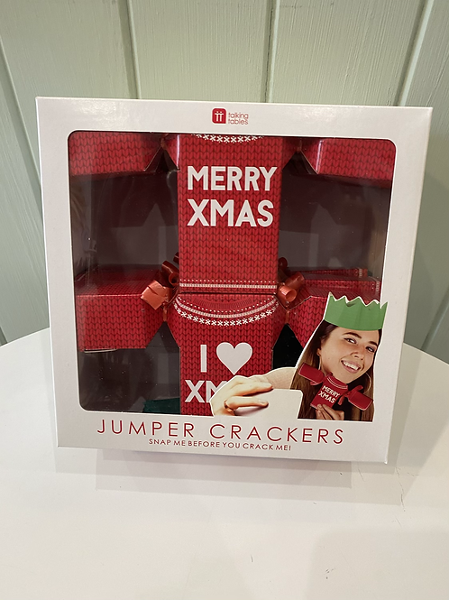 Christmas Jumper Crackers