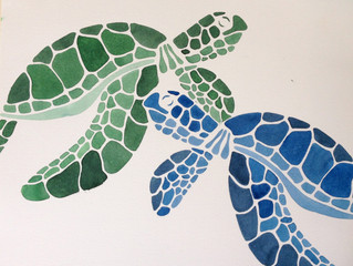 Exhibit of My Students Endangered-Species Artwork (as well as my own) May 1st at 7pm, Mill Valley L