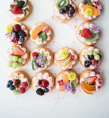 brunch, canapé aux fruits