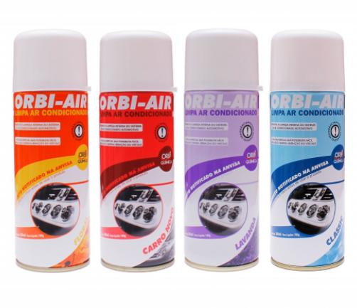 orbi air quimica higienizador ar condicionado