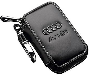 chaveiro couro Audi