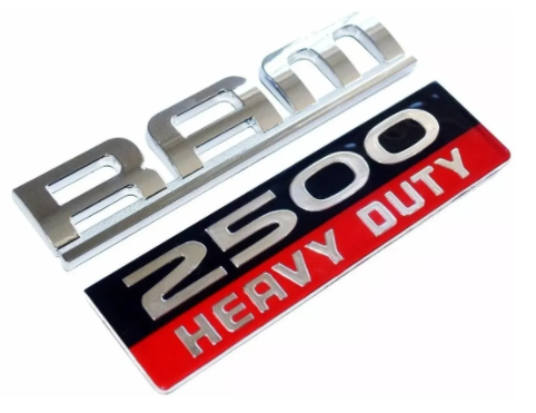 emblema dodge ram 2500 heavy duty
