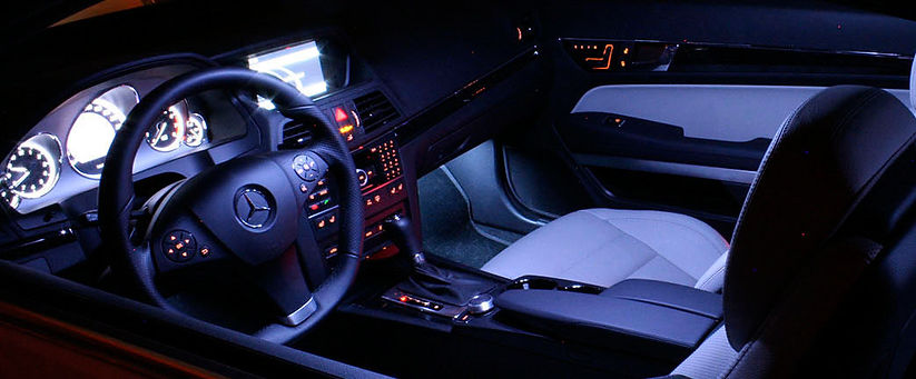 EKILEDS LEDS AUTOMOTIVOS LEDS MERCEDES LUZ INTERNA INTERIOR