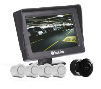 Sensor e câmera de ré Tech One