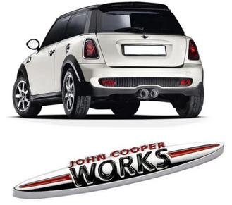emblema mini cooper john cooper works