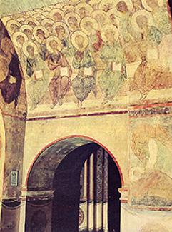 Второе Пришествие Христово. Андрей Рублев.
