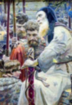 Благословение Сергия. Павел Рыженко