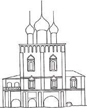 Надвратная Сретенская церковь в Борисоглебском монастыре