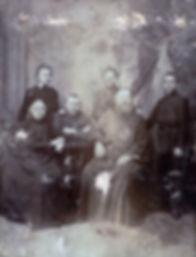 Священномученик Владимир Четверин в кругу своей семьи