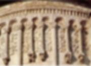 Владимир. Дмитриевский собор. Аркатурный пояс центральной апсиды