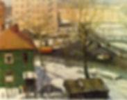 В.Чулович. Весна на Масловке