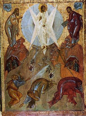 Преображение Господне. 14 век.