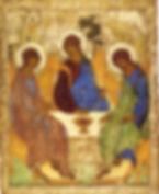 Троица Андрея Рублева