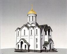 храм прп. Андрея Рублева на Верхней Масловке (проект)
