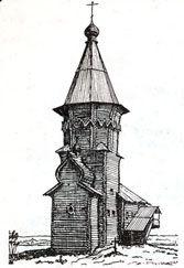 Церковь Успения Пресвятой Богородицы в селе Кондопога Карелия,1774.