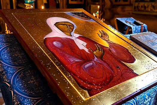 освящение иконы Матроны 2.jpg